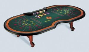 Punto Banco speeltafel